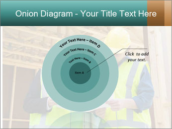 Worker discussing issues at the construction site PowerPoint Template - Slide 61