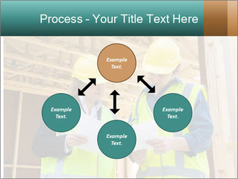 Worker discussing issues at the construction site PowerPoint Template - Slide 91
