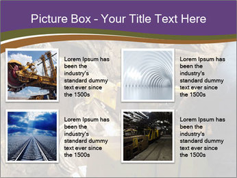 Underground mine PowerPoint Template - Slide 14