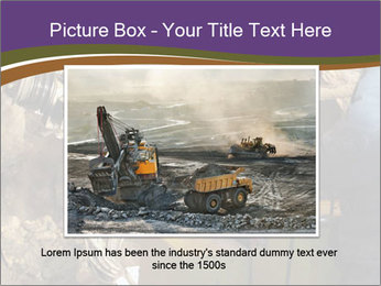 Underground mine PowerPoint Template - Slide 15