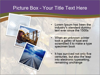 Underground mine PowerPoint Template - Slide 17
