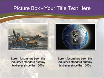 Underground mine PowerPoint Template - Slide 18