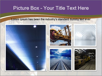 Underground mine PowerPoint Template - Slide 19