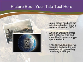 Underground mine PowerPoint Template - Slide 20