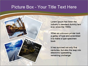 Underground mine PowerPoint Template - Slide 23