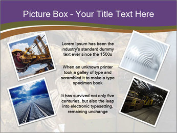 Underground mine PowerPoint Template - Slide 24