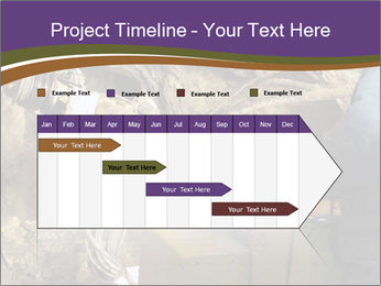 Underground mine PowerPoint Template - Slide 25