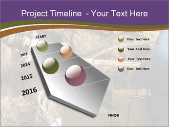 Underground mine PowerPoint Template - Slide 26