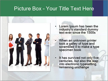 Business assistant flirting PowerPoint Template - Slide 13
