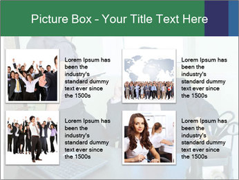 Business assistant flirting PowerPoint Template - Slide 14
