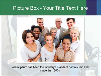 Business assistant flirting PowerPoint Template - Slide 15
