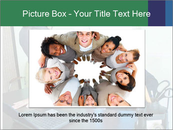 Business assistant flirting PowerPoint Template - Slide 16