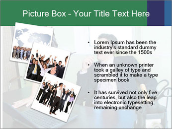 Business assistant flirting PowerPoint Template - Slide 17