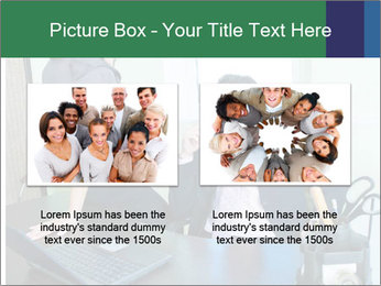 Business assistant flirting PowerPoint Template - Slide 18