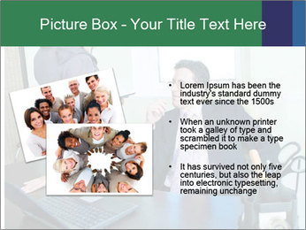 Business assistant flirting PowerPoint Template - Slide 20