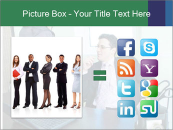 Business assistant flirting PowerPoint Template - Slide 21