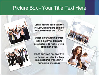 Business assistant flirting PowerPoint Template - Slide 24