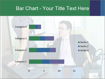 Business assistant flirting PowerPoint Template - Slide 52