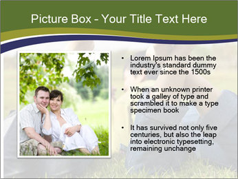 Couple Enjoys Time In Field PowerPoint Template - Slide 13