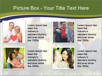 Couple Enjoys Time In Field PowerPoint Template - Slide 14