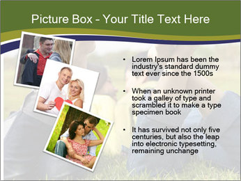 Couple Enjoys Time In Field PowerPoint Template - Slide 17