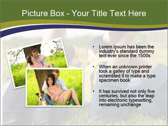 Couple Enjoys Time In Field PowerPoint Template - Slide 20