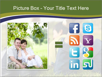 Couple Enjoys Time In Field PowerPoint Template - Slide 21