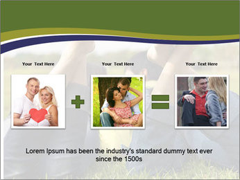 Couple Enjoys Time In Field PowerPoint Template - Slide 22