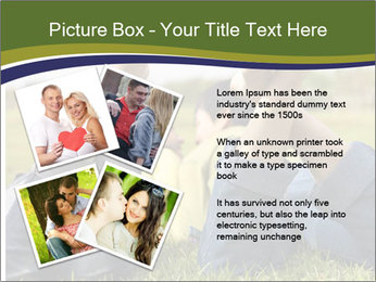Couple Enjoys Time In Field PowerPoint Template - Slide 23
