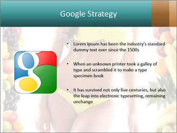 Woman Wearing Yellow Bikini PowerPoint Template - Slide 10