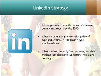Woman Wearing Yellow Bikini PowerPoint Template - Slide 12