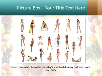 Woman Wearing Yellow Bikini PowerPoint Template - Slide 15