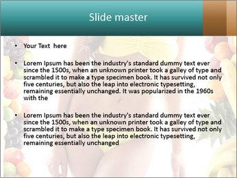 Woman Wearing Yellow Bikini PowerPoint Template - Slide 2