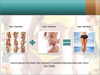 Woman Wearing Yellow Bikini PowerPoint Template - Slide 22