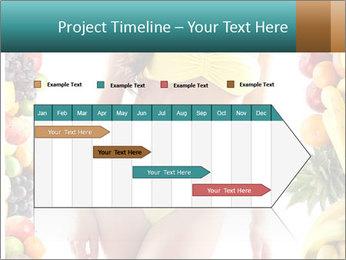Woman Wearing Yellow Bikini PowerPoint Template - Slide 25