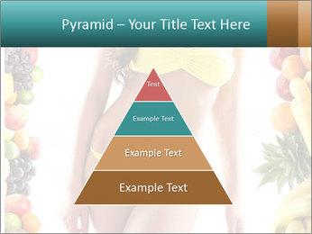 Woman Wearing Yellow Bikini PowerPoint Template - Slide 30