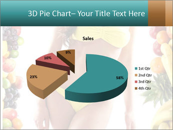 Woman Wearing Yellow Bikini PowerPoint Template - Slide 35
