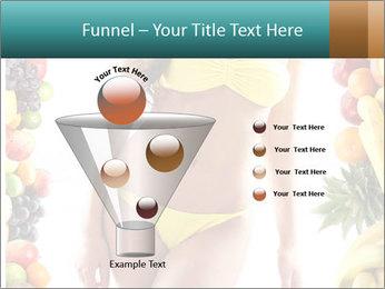 Woman Wearing Yellow Bikini PowerPoint Template - Slide 63