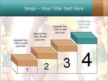 Woman Wearing Yellow Bikini PowerPoint Template - Slide 64