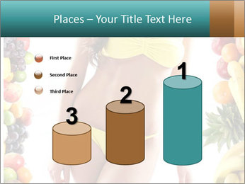 Woman Wearing Yellow Bikini PowerPoint Template - Slide 65
