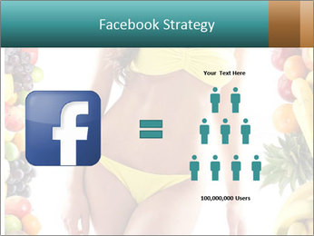 Woman Wearing Yellow Bikini PowerPoint Template - Slide 7