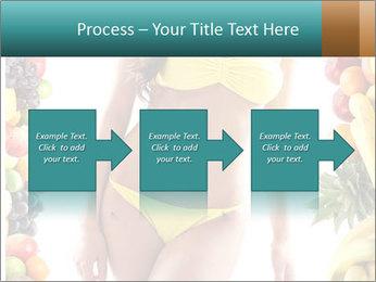 Woman Wearing Yellow Bikini PowerPoint Template - Slide 88