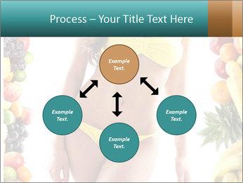 Woman Wearing Yellow Bikini PowerPoint Template - Slide 91