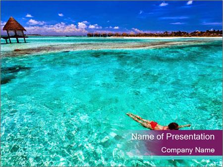 Bungalo In Polynesia PowerPoint Templates