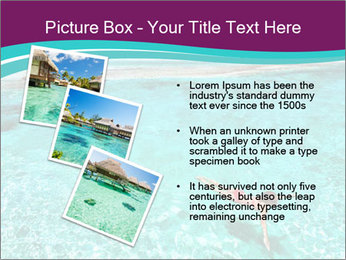 Bungalo In Polynesia PowerPoint Template - Slide 17