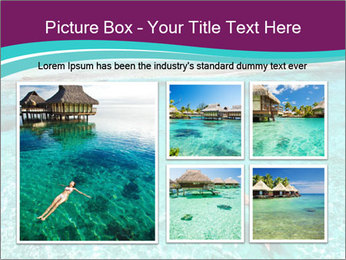 Bungalo In Polynesia PowerPoint Template - Slide 19