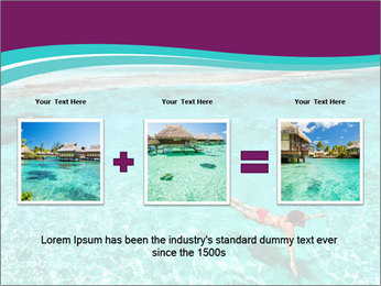 Bungalo In Polynesia PowerPoint Template - Slide 22