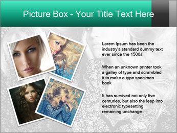 Black And White Model Photo PowerPoint Templates - Slide 23