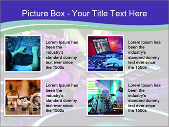 Stereo Music Mixer PowerPoint Template - Slide 14