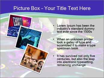 Stereo Music Mixer PowerPoint Template - Slide 17